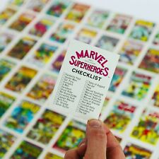 Marvel Vintage Original (1984) Trading Cards Complete Set of 60 - BRAND NEW