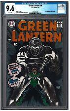 GREEN LANTERN #58 CGC 9.6 (1/68) DC white pages