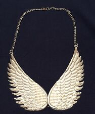 Fabtastic, New Boho Angel Wings Party Collar Statement Necklace Hippy Gown Wear
