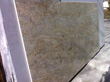 Naturstein Tischplatte Steinplatte Arbeitsplatte Granitplatte weiss gelb Stein