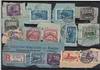 Germany SAAR Stamps Cancelled on piece  Ref 14276