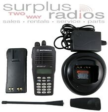 Motorola Ht1250Ls+ Uhf 400-470Mhz 18Ch 4W Ltr Trunking Radio Aah25Rdh9Dp6An Dtmf