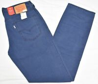 1931a26eef50b Levi s Pants Men s 32x34 514 Straight Fit Padox Canvas Twill 5-Pocket Blue  N889