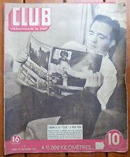 Club - l'hebdomadaire du sport n° 23 du lundi 23 décembre 1946