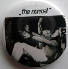 The Normal - Warm Leatherette 25mm Pin Badge NORM1