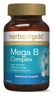 Mega B Complex by Herbs of Gold 60 vcaps
