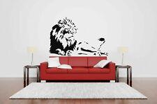 Wall Vinyl Sticker Decals Mural Room Design Art Lion Wild Animal Decor bo759