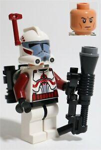 LEGO STAR WARS HEAVY ARC CLONE TROOPER MINIFIGURE - MADE OF GENUINE LEGO PARTS