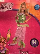 Winx Club Flora Costume Girl L(10-12)