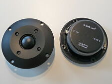 2x 10cm Hochtöner Tweeter 100mm Boxen 40Watt Sound Lab L062B PAAR