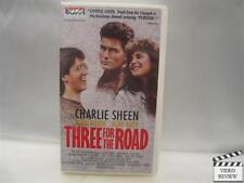 Three for the Road *VHS* 1987 *Charlie Sheen *Alan Ruck