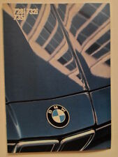 BMW 7 Series 1985 UK Market brochure prospekt - 728i 732i 735i E23