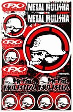 Metal Mulisha Rockstar Energy Sticker Superbike Motorcycle Skull Vinyl DecaI T29