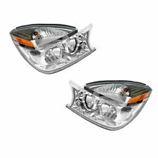 04-05 Buick Rendezvous Headlights Headlamps Pair Set Left Driver & Right