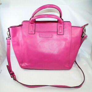 Vera Bradley Handbag Satchel Shoulder Bag Pink Vegan Leather