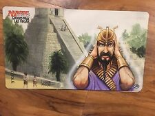 #SHI MTG Signed Ancestral Recall Playmat x1  Mark Poole GP Las Vegas 2017 P9