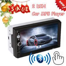 2DIN MP5 Media Player Autoradio Car Stéréo Lecteur BT AUX Touch Télécommande HOT