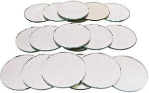Bulk Art Decorative Mirrors Round Shape Mosaic Tiles Mirror 18 Pcs DIY COMMR09-A