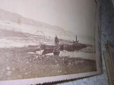 1885.photographie Chililaya Titicaca.Bolivie.Cordiglia
