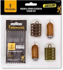 Browning Bream & Other Silverfish - Feeder Set, Futterkörbchen zum Feederangeln
