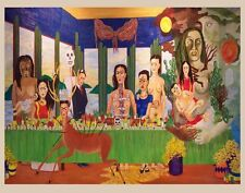 Kahlo Frida Last Supper Print 11 x 14   #3773