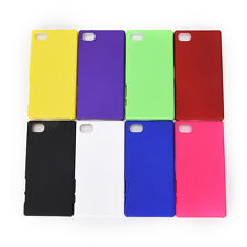 New smooth matte hard cover case for sony xperia Z1 Z3 Z5 compact X performance,
