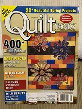 Quilt Trends Spring 2014 Issue 41 Projects and Ideas! Lnc