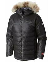 $750 COLUMBIA Men's OUTDRY EX DIAMOND HEATZONE JACKET Titanium Warm Winter Coat