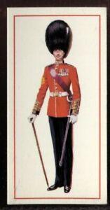 Tobacco Card, Carreras, Black Cat, MILITARY UNIFORMS, 1976, Sergeant Major, #50