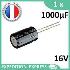 lot de 20 Condensateur chimique radial 16V 1000µF 17x10mm 105° Samwha
