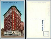 INDIANA Postcard - Indianapolis, Hotel Lincoln F20