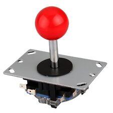 Red joystick 8 way controller for arcade games new SH P8K7 O2U4 I2B7 J4N8
