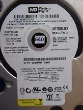 750 gb de Western Digital WD 7500 aaks - 00rba0 | hbrnha 2aab | 19 sep 2007 #640