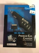 Naztech Classic Apple iPhone Car Charger iPhone 4 4S iPad 2 3 iPod Nano Charger