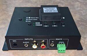 Pure Resonance Audio 60W Bluetooth Mixer Amplifier PRA-60DMA-BT