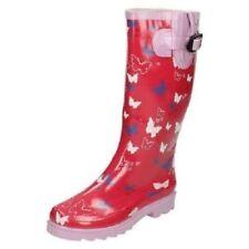 Calzado de mujer plana sin marca color principal rosa