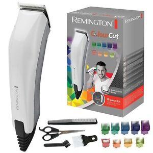 Remington HC5035 Corded Colour Cut16 PC Hair Clipper Grooming Kit