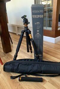 Professional Tripod Camera Black Technology Parameter & Bag, 5ft Tall