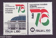 Italien Nr. 1524-25 **  Briefmarkenausstellung ITALIA