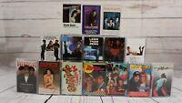 Movie Soundtrack Cassette Tape Lot Rock Rap Dance R&B 80's 90's Hits x 15