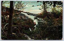 Bashan Dam near Moodus, Connecticut Middlesex County Divided Back Postcard