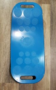 Simply Fit Board The Workout Balance Board with a Twist, As Seen on TV BLUE