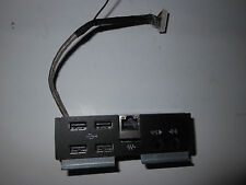 "HP TouchSmart  610 AIO 23 "" system rear connector USB / LAN / Audio board"