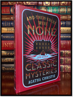 Agatha Christie Classic Mysteries New Sealed Leather Bound Collectible Hardback