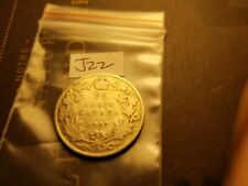 Canada 1907 25 Cent Silver Coin Id#j22.