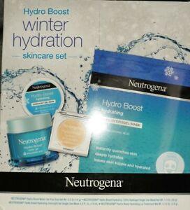 Neutrogena Hydro Boost Winter Hydration 4 pc Skincare Set $28 Value