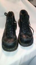 VINTAGE Dr Martens Womens  Black Ankle Boot Lace Up 12278 Size 6 US 37 EU women