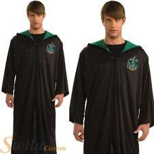 Mens Slytherin Robe Harry Potter Halloween Book Week Fancy Dress Costume