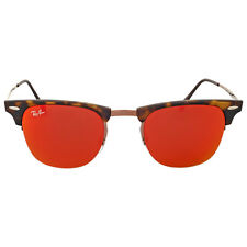 Ray-Ban Clubmaster Light Ray Red Mirror Sunglasses