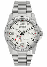 Citizen AW7031-54A Men's Eco Drive PRT Stainless Steel Power Reserve Watch